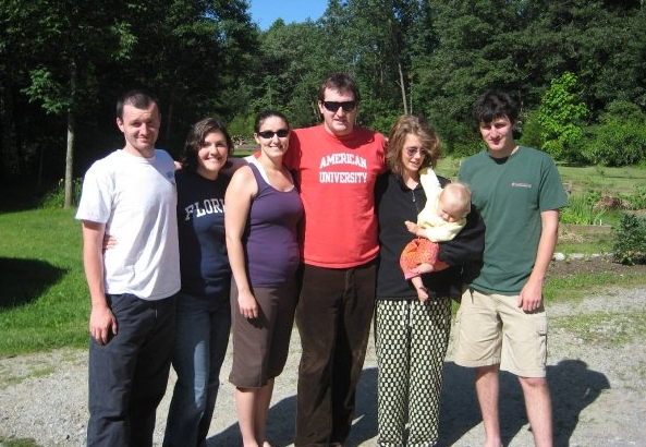 The Cousins (minus 2) Dan, Amy, Me, Jon, Jess, Evelyn and Will