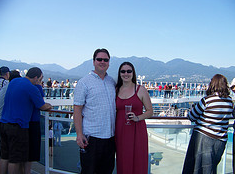 Leaving Vancouver on the Island Princess