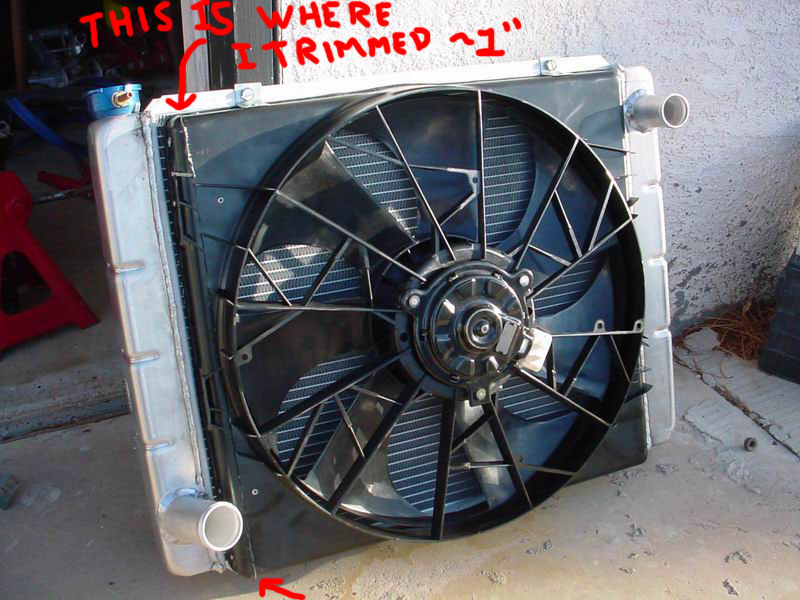 How To Install A Lincoln Mark Viii Electric Fan
