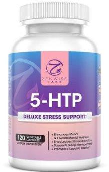 Zenwise Labs 5-HTP Stress Relief & Mood Control Supplement