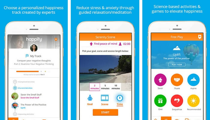 Happify - Stress Management Apps