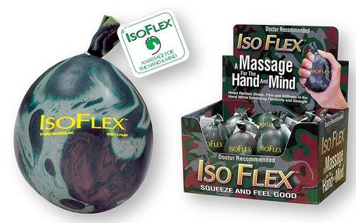 isoflex stress ball camo design