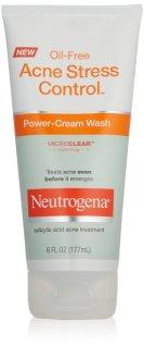 Neutrogena Oil-Free Acne Stress Control Power-Cream Wash