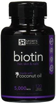 Sports Research Biotin Supplement