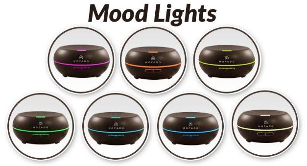 mofado diffuser mood lights