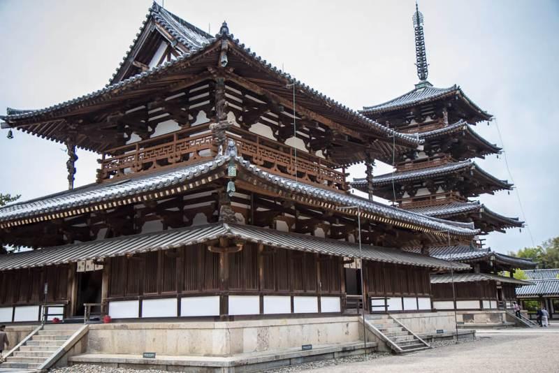 Horyu-Ji buddhist temple