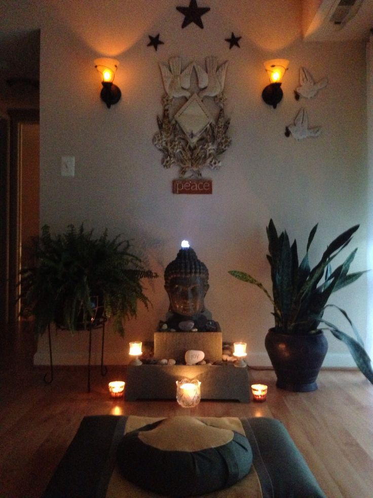 How to create a meditation space for small apartments - Small meditation room ideas ...