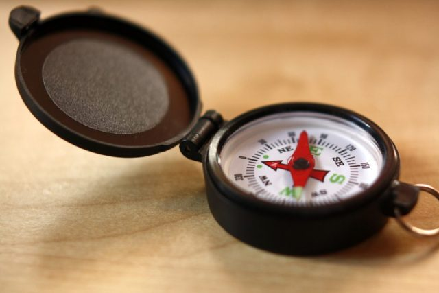Wayfinder - your compass for choosing a direction -- photo cc from Flickr by Colin Zhu