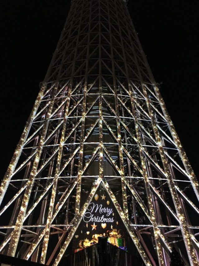 Illuminations at Sky Tree 2016-- Photo by Saki Akane