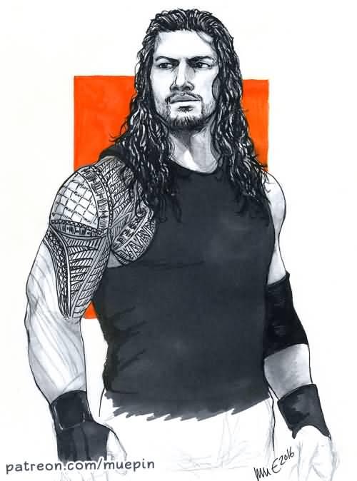Roman Reigns Hand Tattoo Hd Wallpaper