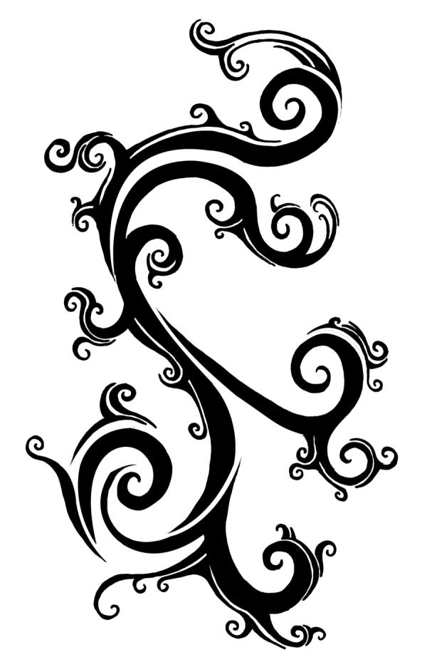 beautiful vine tattoos