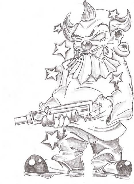 20 Gangster Drawings Tattoos Ideas Ideas And Designs