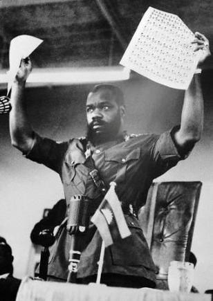 Biafran currency and stamps - Civil war in Nigeria