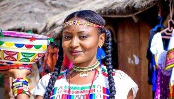 fulani woman - ethnicity in Nigeria