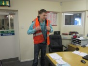 Craig - Health and Safety First ;)