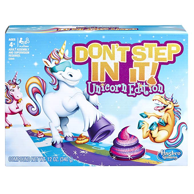 Hasbro Don't Step In It, Unicorn Edition