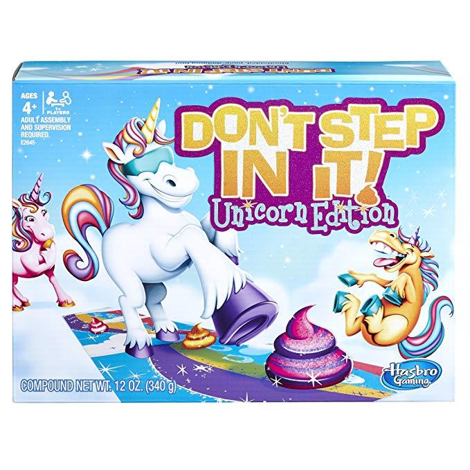 Hasbro Don't Step In It, Unicorn Edition