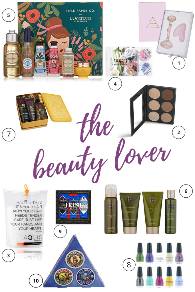 This tried-and-true list of gifts for beauty lovers will give you a nudge in the right direction as you look for the best gifts on Amazon under $50! #giftguide #2018bestgifts #beautylover #beautygifts #amazongiftguide #budgetgifts