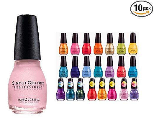 sinful colors nail polist gift set
