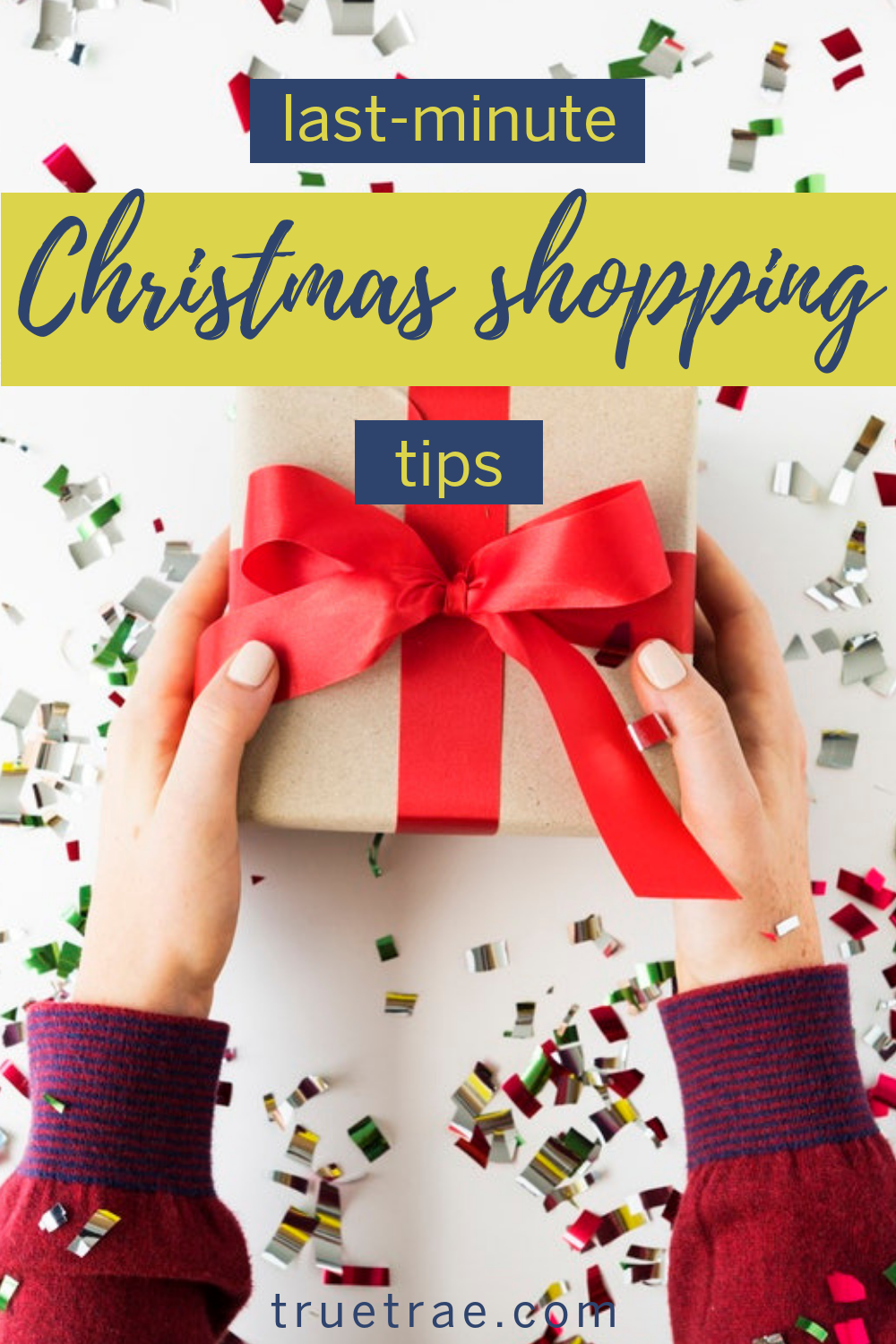 Christmas, if you celebrate, is right around the corner. That means procrastinators need to get their last-minute Christmas shopping on! #lastminutegifts #christmasgifts #lastminutetips #Christmasshopping