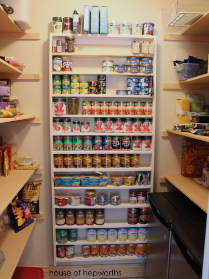 Wall Mounted Canned Food Storage : mounted, canned, storage, Canned, Goods, Storage, Value