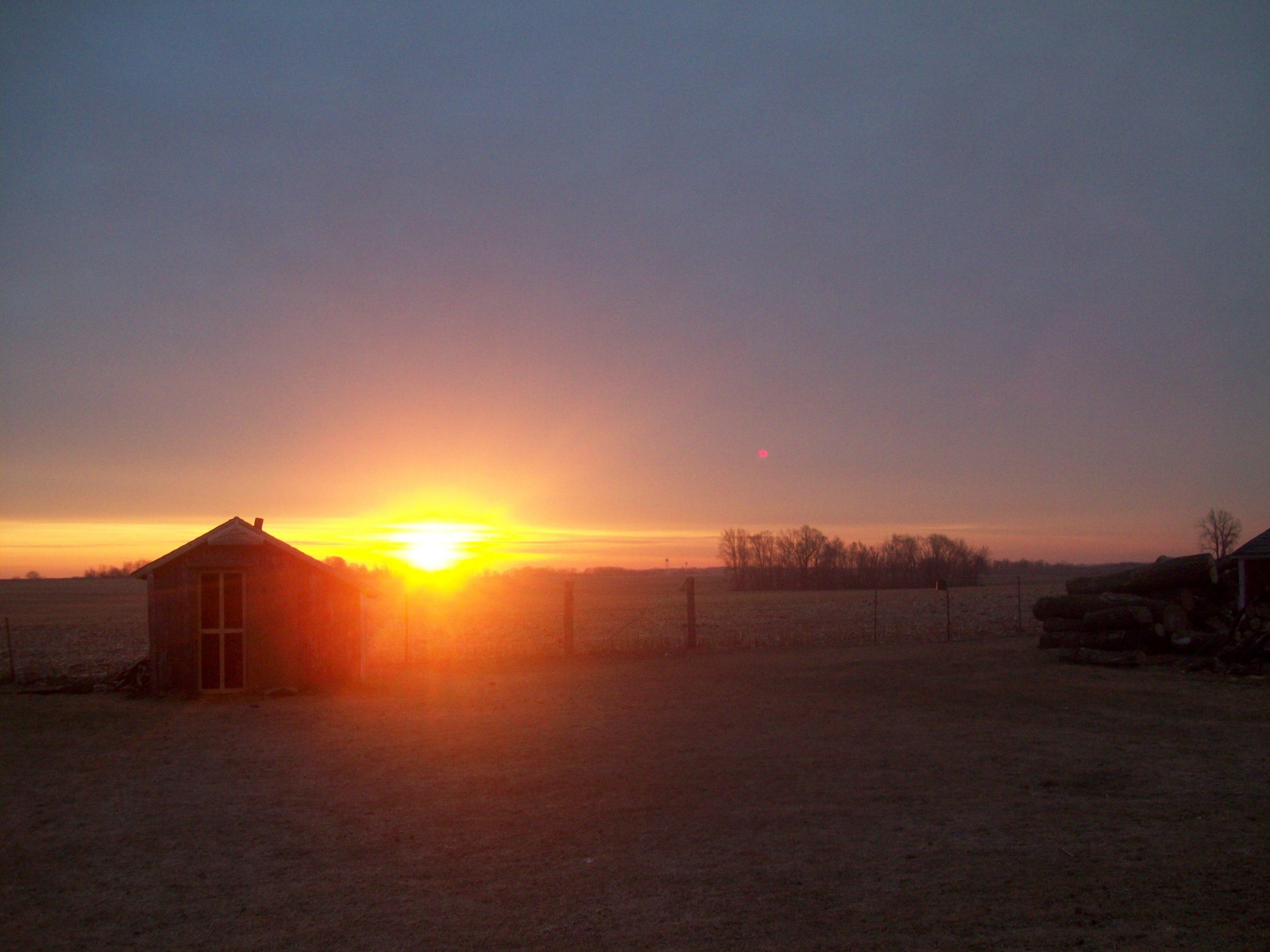 Sun's Up!