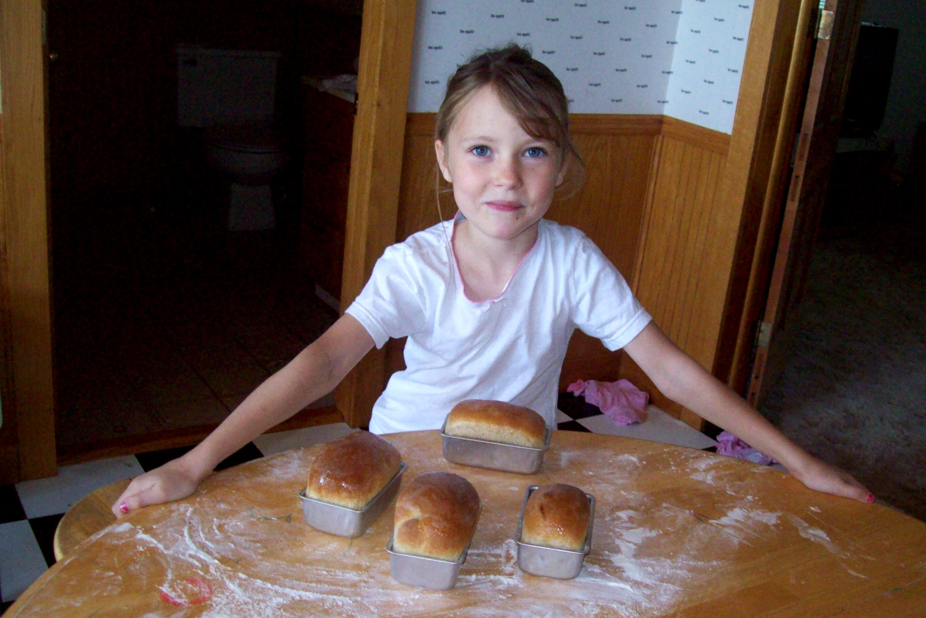 Pic9 Making bread on the weekend