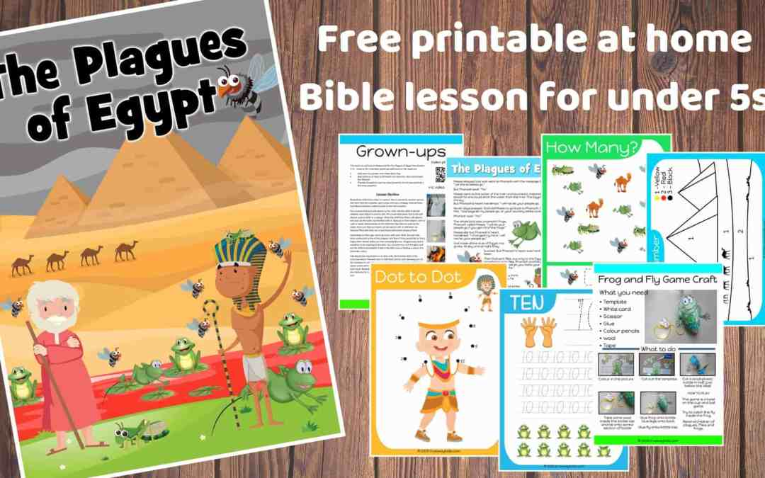 The Plagues of Egypt – Free Bible lesson for under 5s