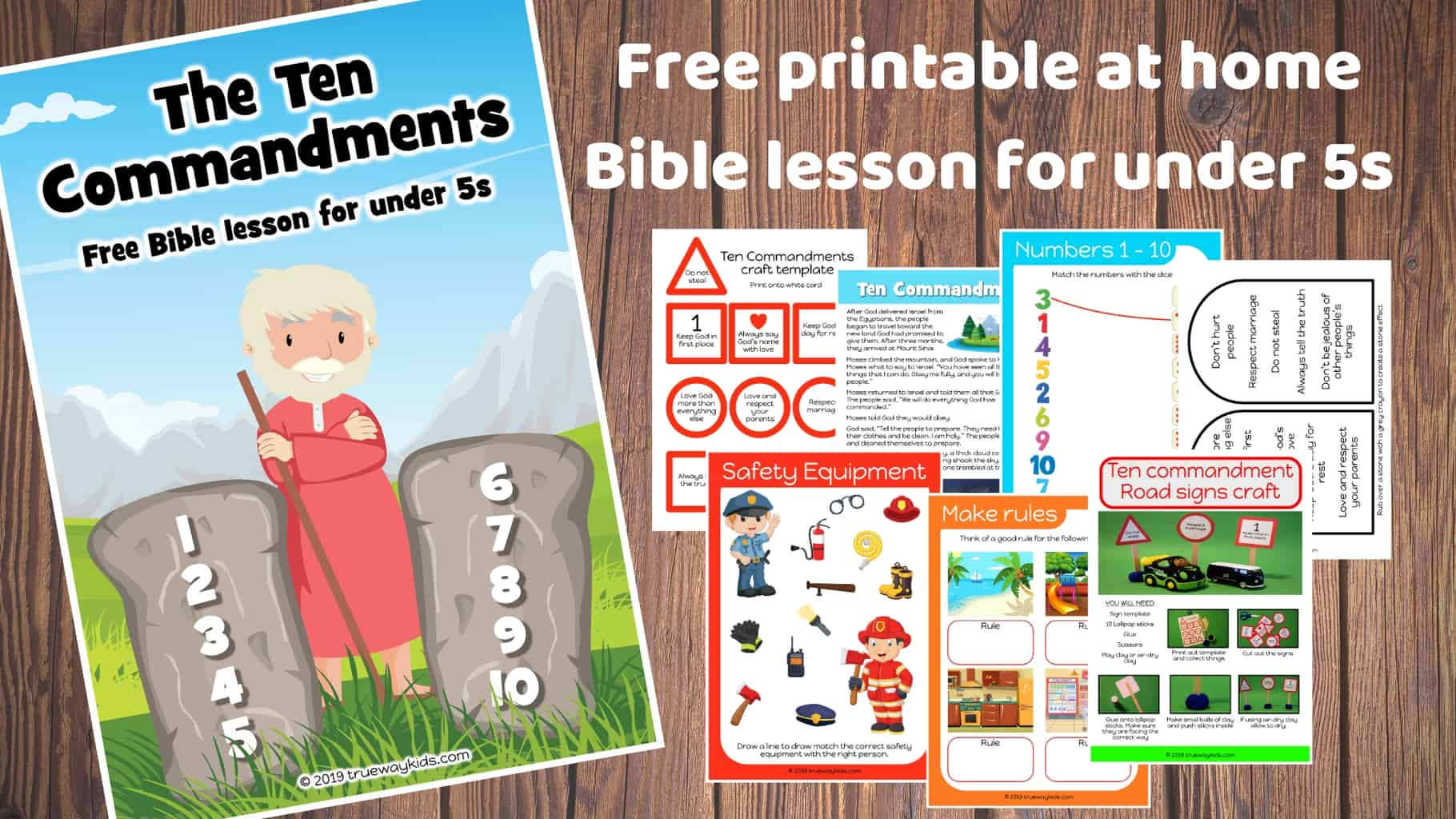 photo regarding The Ten Commandments Printable referred to as The 10 Commandments - Totally free Bible lesson for beneath 5s