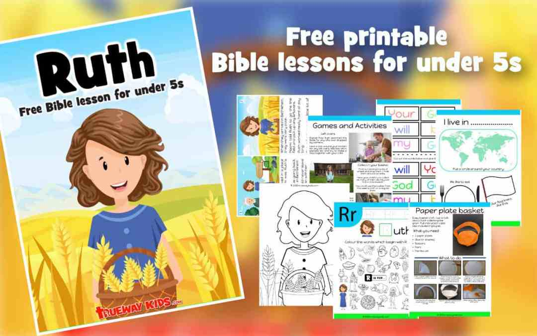 Ruth – Free Bible lesson for under 5s
