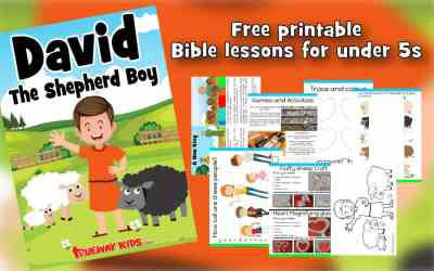 Samuel Anoints David – Preschool Bible lesson