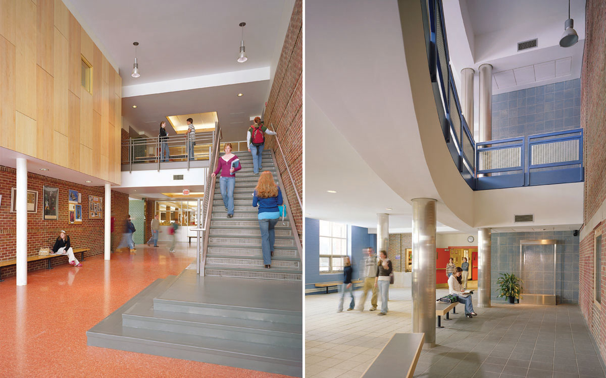 Interiors – Brattleboro Area Middle School & Union High School