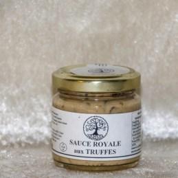 sauce royale aux truffes