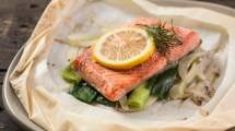 Baked Salmon in Parchment Paper Recipe