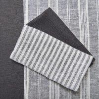 Emilee Multi-Striped Table Runner - Bark & White | Truffle ...