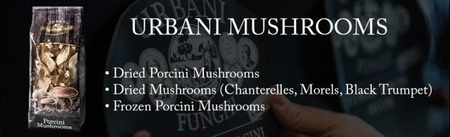 urbani dried porcini mushrooms