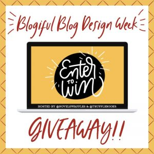 giveaway 300x300 - BLOGIFUL DAY 2: Logos, Branding & More!