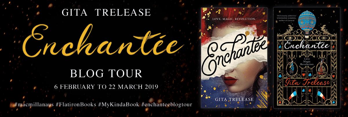 Author Interview: Enchantée's Gita Trelease | Blog Tour