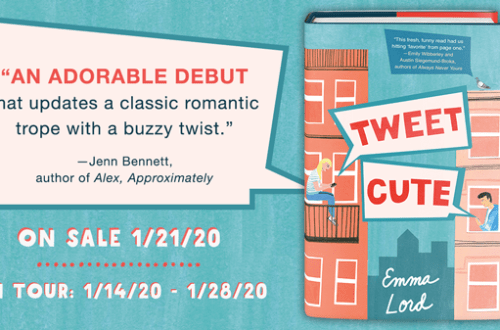 Tweet Cute Blog Tour Banner - Tweet Cute Book Review | Blog Tour