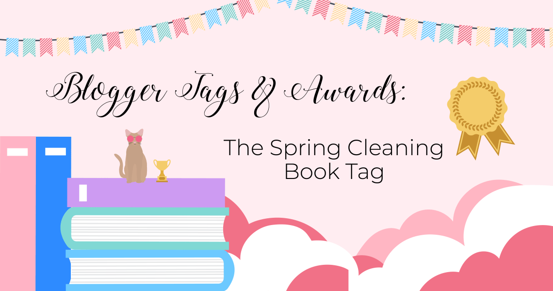 bloggertag - The Spring (Autumn?) Cleaning Book Tag