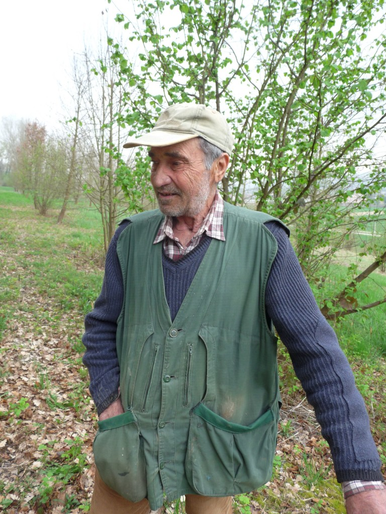 Giuliano truffle hunter