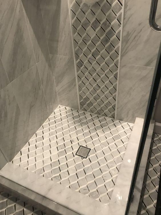 shower drain installation