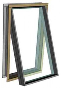 Wning windows are casement windows that hinge from the top.