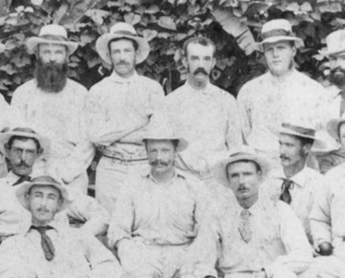 Truii data visualisation, analysis and management Cricket players ca. 1881crop