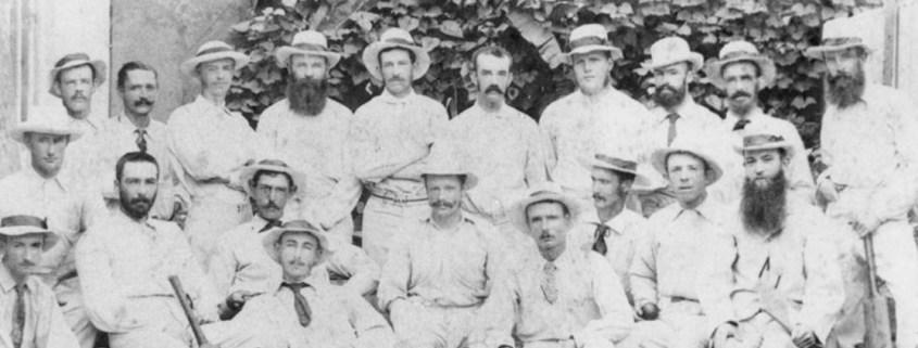 Truii data visualisation, analysis and management Cricket players ca. 1881crop