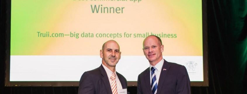 Truii data visualisation, analysis and management Open Data award 53