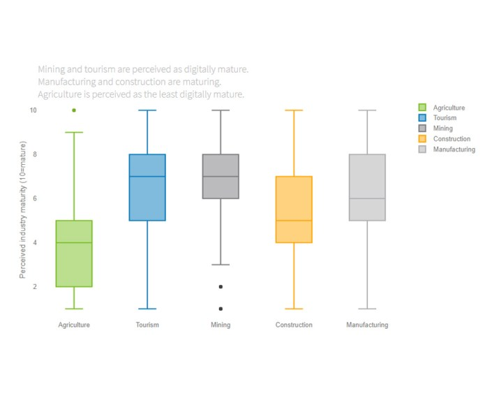 Perceived industry digital maturity