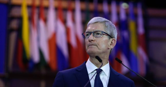 Apple CEO Tim Cook: Personal data collection is being 'weaponized against us with military efficiency'