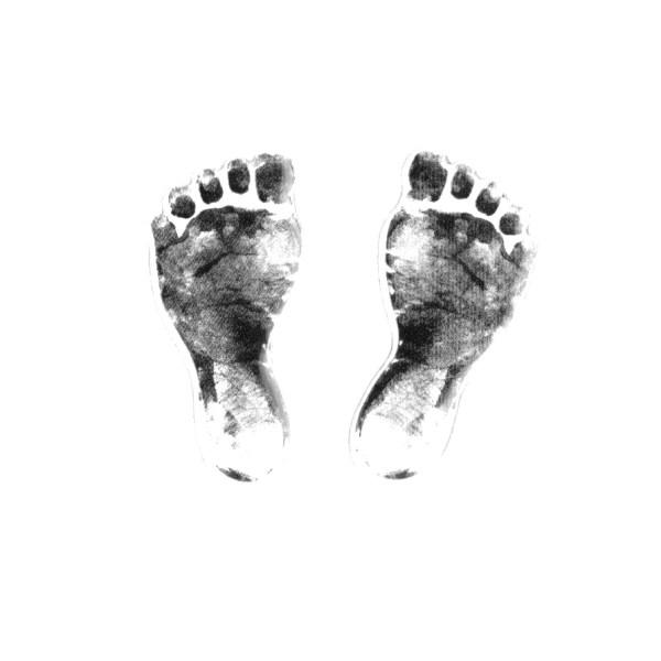 Eco Baby Gift Set Footprint Card