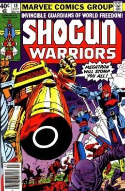 Herb Trimpe, Shogun Warriors, July 1980, Marvel Comics